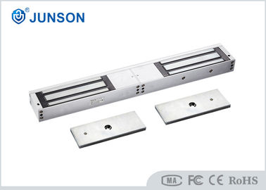 Cina 1200LBS*2 Sliding door magnetic lock For Double Swing Glass Door , CC SGS approved-JS-500DS pemasok