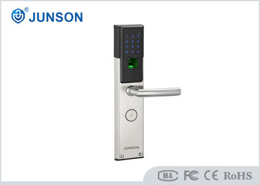 Cina Home security Fingerprint Door Locks Fingerprint Gate Lock With Keypad pemasok