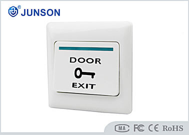 Cina Access Control Exit Push Button , Hotel Plastic Door Exit Button pemasok