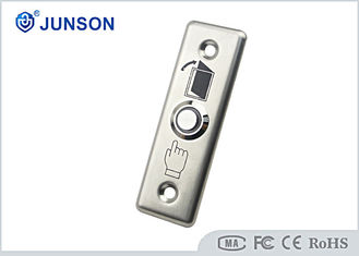 Cina Stainless Steel Exit Push Button Mechanical Access Control Door Release pemasok