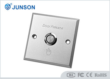 Cina Door Release Access Control Exit Button Push To Exit With Nickel Plating pemasok