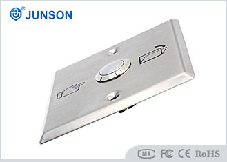 Cina Stainless Steel  Exit Push Button Switch Of Door Aaccess Control pemasok