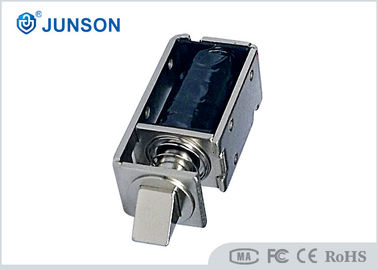 Customized 24V no casing Kunci Kabinet Electric Lock / solenoid dengan konektor kabel 70mm